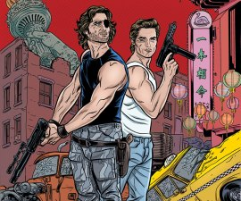 Big Trouble In Little China/Escape From New York #1 from Boom Studios!