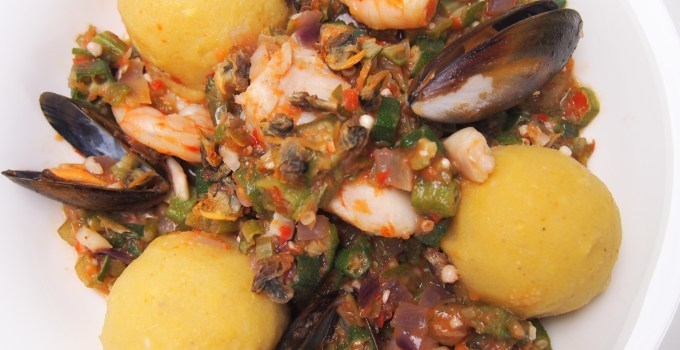 Chinwe's 'White' Okro Soup