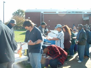 Community Outreach Feeding The Crowd