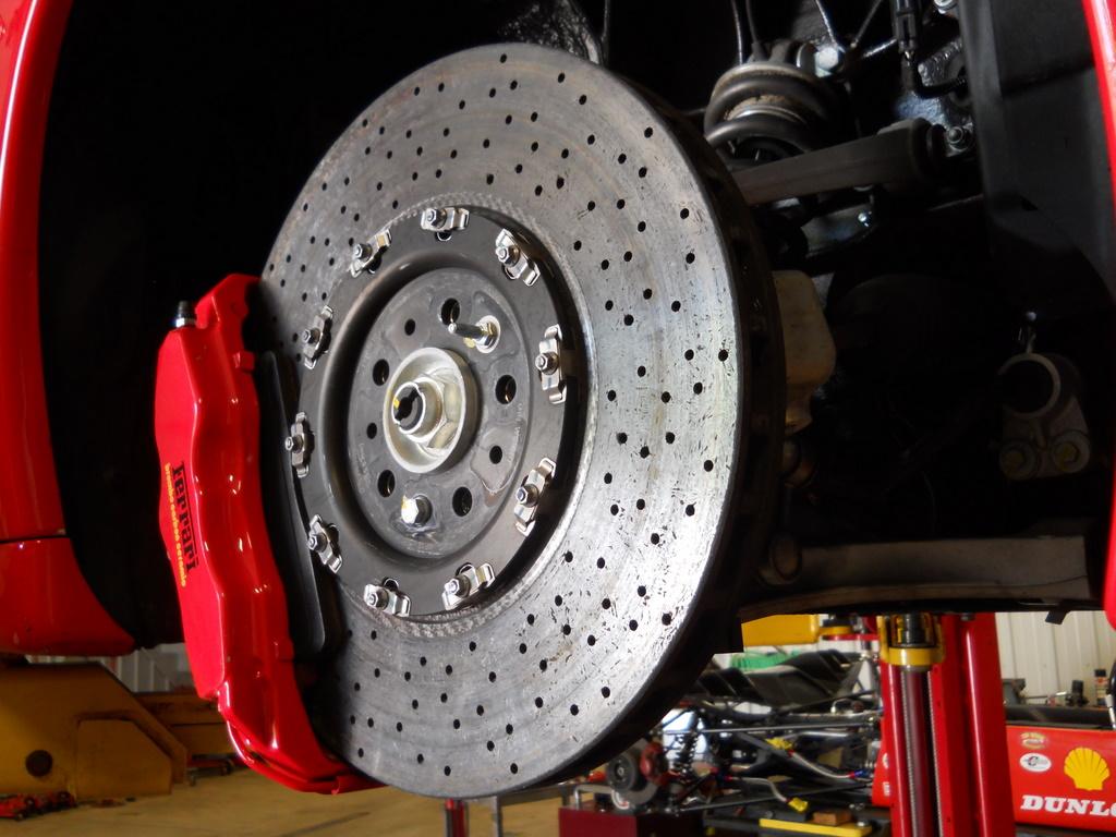 f430 carbon ceramic brakes