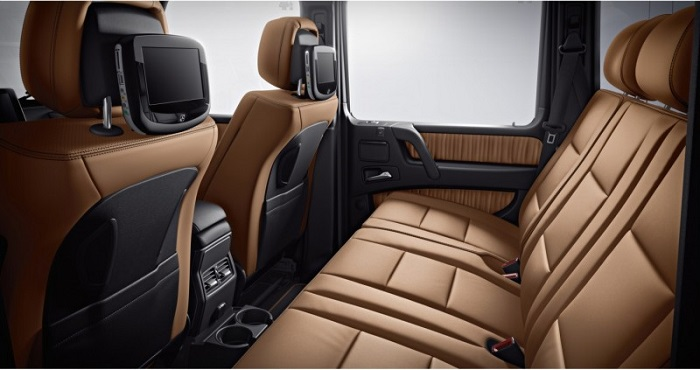 2013 Mercedes Benz G63 AMG Interior 800x423 mercedes benz g55 g63 amg buyers guide exotic car hacks  at bakdesigns.co