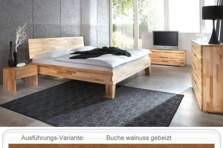 schlafzimmer wallis buche mivholzbett kommode