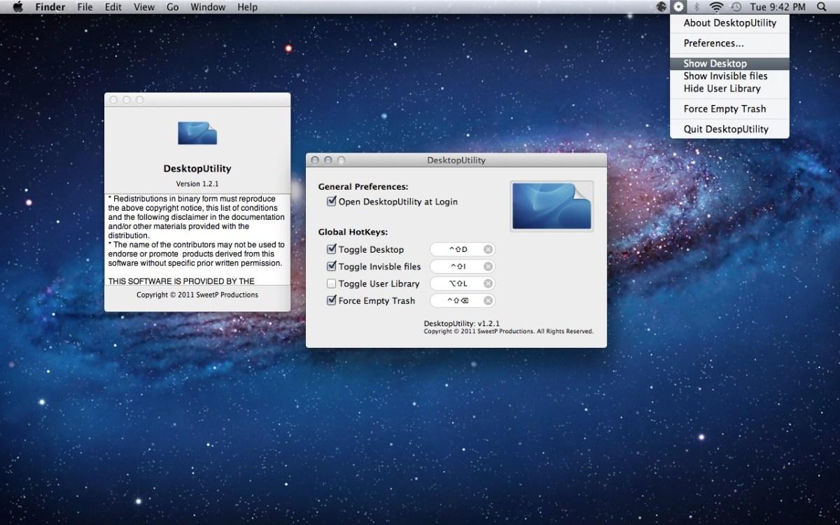 Test desktoputility l utilitaire mac incontournable for Fenetre utilitaire mac