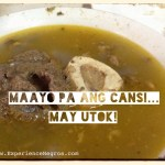 Ilonggo Food: Bacolod Cansi Recipe