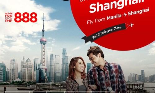 AirAsiaannounces direct flights to Shanghai from Manila