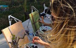 Jenny Long VIP (Vineyard Inspired Painting) Class