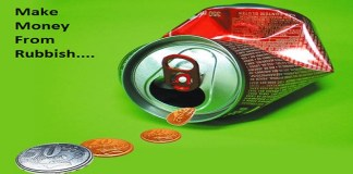make money from rubbish recycling