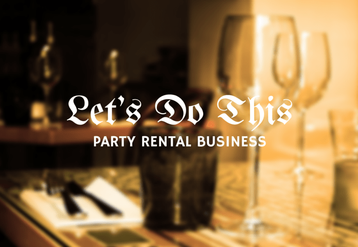 starting party rental business