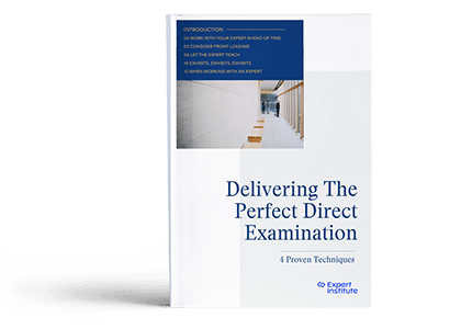 Delivering The Perfect Direct Examination: 4 Proven Techniques