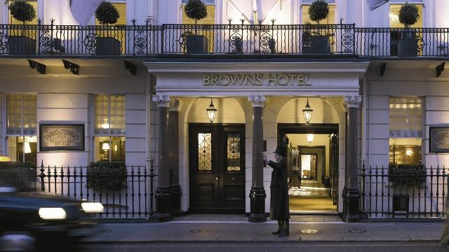 Brown's Hotel in London