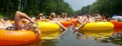 Tubing the Neuse River
