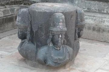 Shiva Linga at Sri Swayambhu Temple Warangal