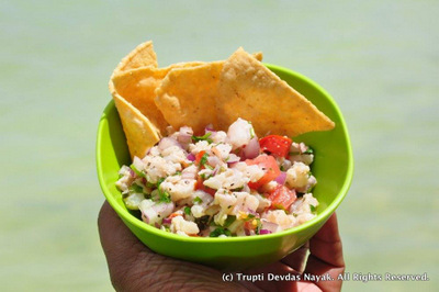 Best Ceviche Isla Holbox Fresh Seafood Mexico