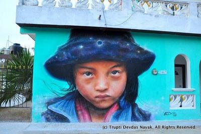 Street Art Isla Holbox Mexico