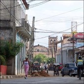 Baracoa Main Street by Jorge E. San Roman http://commons.wikimedia.org/wiki/File:Baracoa_5705.JPG (CC BY-SA 2.5)