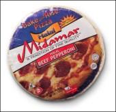 Midamar Halal Pizza via http://www.midamarhalal.com/Product/Pizza/Halal-Pizza/166/Halal-Beef-Pepperoni-Pizza-12in-bake-Rise.aspx [Fair Use]
