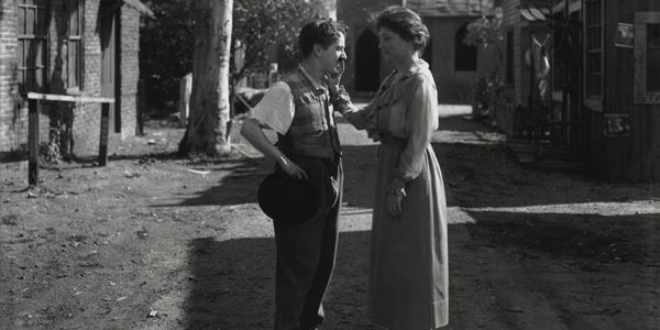 Helen Keller With Charlie Chaplin in Hollywood in 1919