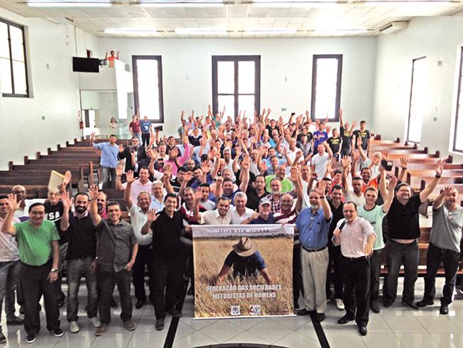 Oitava Região Eclesiástica realiza I Congresso Metodista de Homens