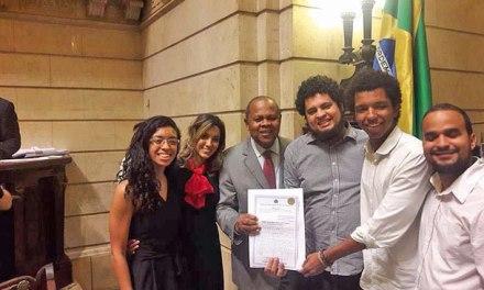 FEMEJO recebe homenagem na Câmara Municipal do Rio de Janeiro
