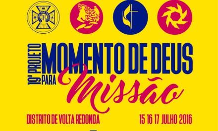 Projeto Momento de Deus para Missões