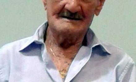Nota de Falecimento: João Lopes, pai do Bispo João Carlos