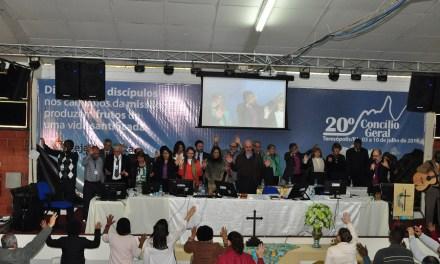 Culto de encerramento do 20º Concílio Geral