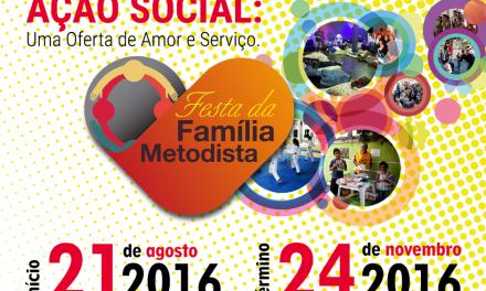 Campanha de Ação Social Metodista já está no ar
