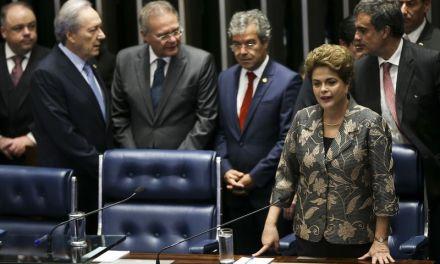 Estamos a um passo de um golpe, diz Dilma no Senado