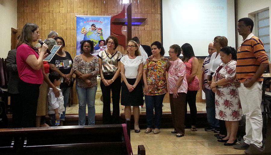 Igreja Metodista de Gardênia Azul realiza homenagem para professores/as da região