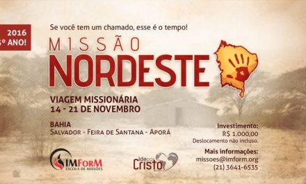 Instituto Metodista de Formação Missionária realiza Missão Nordeste em novembro