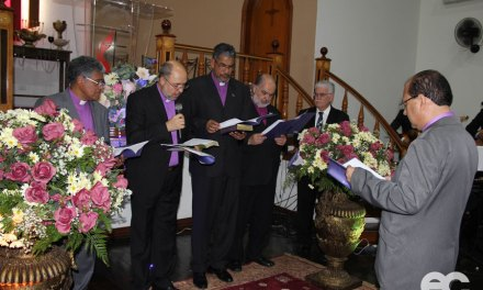 Colégio Episcopal consagra Bispo eleito no 20º Concílio Geral
