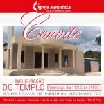 Igreja Metodista inaugura templo em Goiás