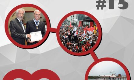 Giro de notícias #015 – Giro Regional 8RE – Reforma da Previdência – Metodismo capixaba
