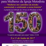 Junho é o mês da Capacitação Nacional de Mulheres na Faculdade de Teologia