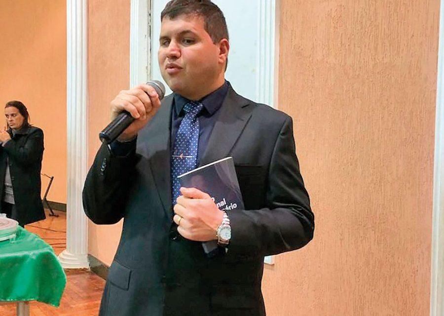 Pastor Enoque  Rodrigo assume a Pastoral da Inclusão