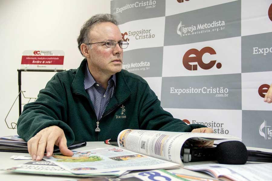 Secretário regional do Upper Room para América Latina visita o Brasil