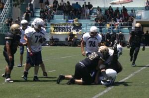 Zorros MXL vs. Águilas - Semifinal Infantil Menor (2-May-15) AR