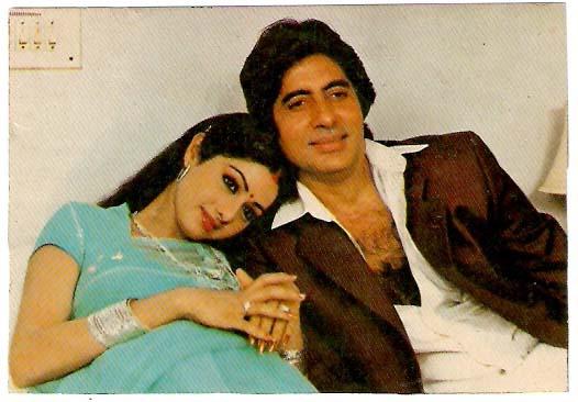 Sridevi with Amitabh Bachchan