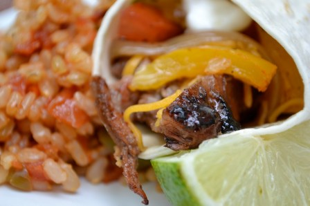 Grilled Steak Fajitas Recipe
