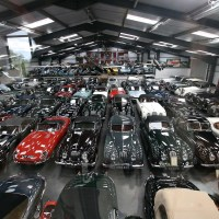 Jaguar Land Rover Bought The Largest Private Collection Of Classic British Cars