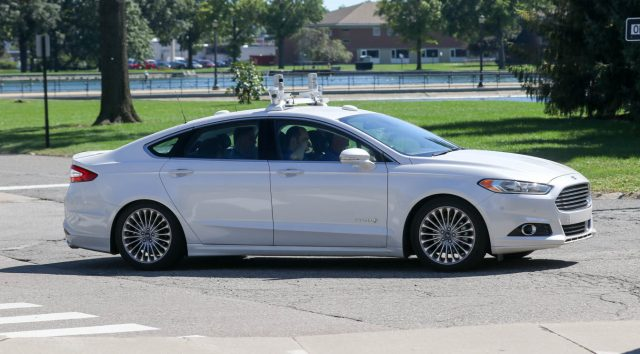 Ford Fusion Self-driving
