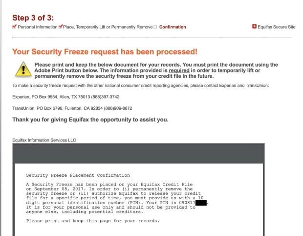 SecurityFreeze
