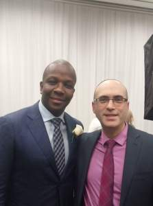 Donovan Bailey and Eyal Bitton