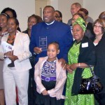 Lifetime Mentor, Bishop Larry Lee Thomas (featured with family and members of the Empowering Believers Church)