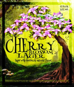 Cherry Lager Label