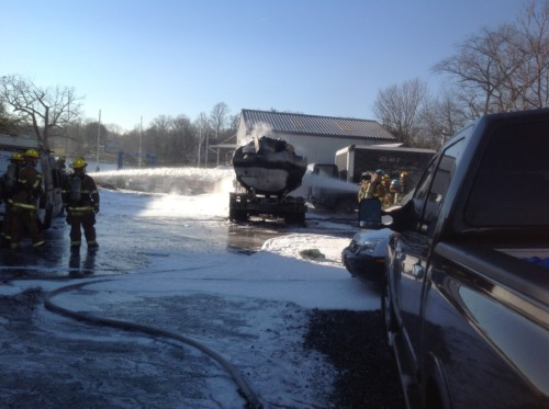 Annapolis Fuel Truck Fire