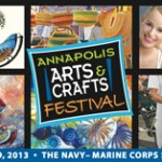 The Annapolis Arts And Crafts Festival Featuring Kids' Art Activities