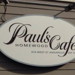 Review:  Paul's Homewood Cafe