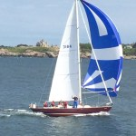 Arnold skipper wins C. Gaither Scott Trophy in Annapolis to Newport Race