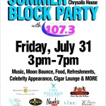 Robert Andrew to host Summer Block Party